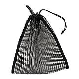 Dauerhafte Maschennetz Taschen Beutel Golf Tennisbälle Meshsack