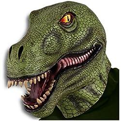 Máscara de Látex dinosaurio