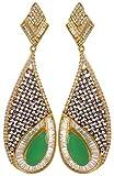 Artificial Jewellery Com Gold & Green Da...