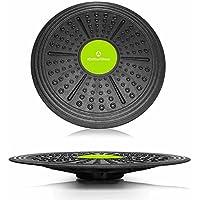 Tabla de equilibrio redonda »Circulum« / Plataforma de equilibrio / Tabla de coordinación para fitness y terapia / 36 cm