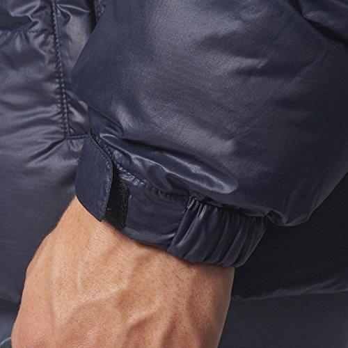 adidas Herren Hooded Jacke Blue/Tinley