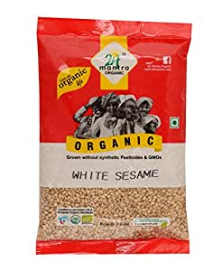 24 Mantra Organic White Sesame Seed, 100g
