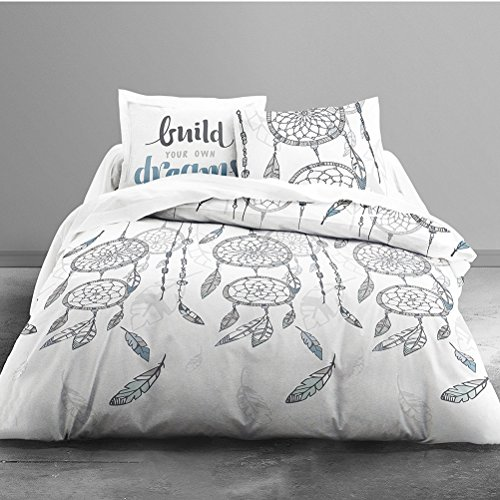 �sche Enjoy Dream Catcher 100% Baumwolle – 1 Bettbezug 220 x 240 cm + 2 Kissenbezüge 63 x 63 cm (Today Deals)