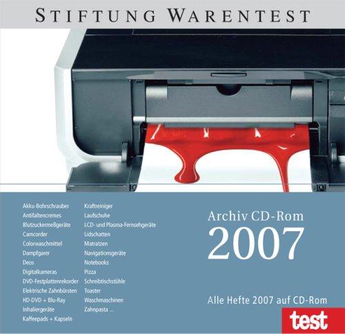 Produktbild test Archiv 2007. Für Windows Vista / XP / 2000 / NT und Mac OS 10.4.3