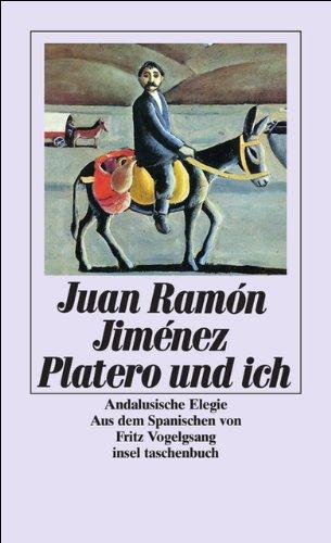 Buchseite und Rezensionen zu 'Platero und ich' von Juan Ramón Jiménez