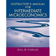 Intermediate Microeconomics: Intermediate Microeconomics: Instructor's Manual Instructor's Manual