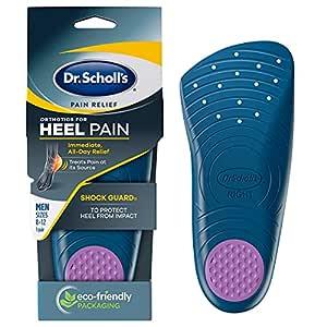 Dr. Scholls Pain Relief Orthotics for Heel for Men, 1 Pair, Size 8-12