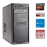 ONE Gaming Starter PC 01 · AMD FX-6300 (6 x 3.50GHz) · 2 GB AMD Radeon RX 460 · 8GB RAM · 1000GB HDD · Gigabyte GA-970A-DS3P · Windows 10 Home