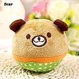 Spielzeug für Haustiere, Hunde, Katzen, mit Ton, rollend, mit Baumwolle gefüllt, 1 Stück
