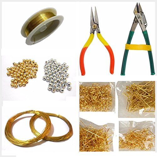 AM Jewellery Making Basic Accessories Finding Tool Kit with Multiple Items