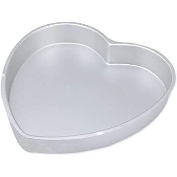 Hua You Aluminium Cake Baking Mould Heart Shaped - 1kg