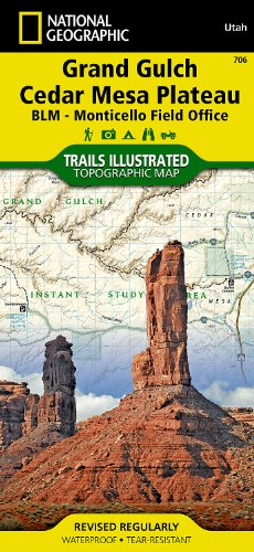 Grand Gulch: Trails Illustrated Other Rec. Areas (National Geographic Trails Illustrated Map)