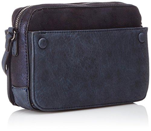 Bulaggi Damen Mariyah Shoulderbag Schultertaschen, 22x15x6 cm Blau (Blue 43)