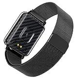 Fitness Armband mit Puls Uhr,Wasserdicht IP68 Fitness Uhr Smartwatch Farbbildschirm Fitness Tracker Pulsmesser Schrittzähler Sportuhr für Damen Herren Anruf SMS Beachten für iOS Android...