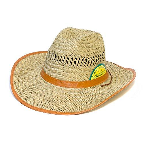 Hat To Socks Chapeau Cowboy à Paillettes avec Marron Ruban en Faux Cuir