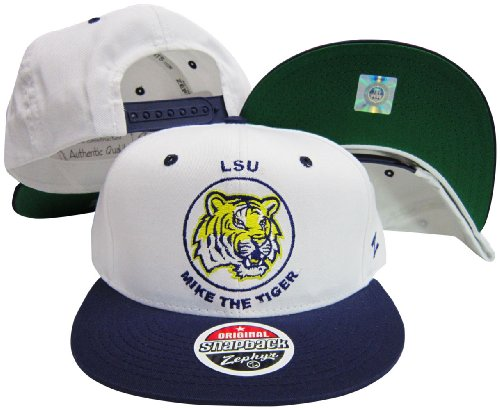 Zephyr Louisiana State Tigers Maskottchen Snap Back Hat Louisiana Tigers