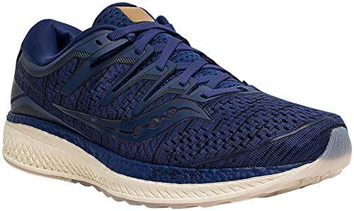 Saucony Men Triumph ISO 5 Neutral Running Shoe Running Shoes Dark Blue - Dark Grey 11