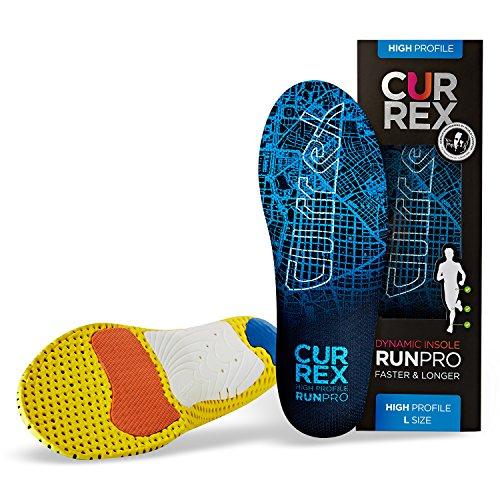 CURREX RunPro Sohle - Entdecke Deine Einlage für eine neue Dimension des Laufens. Dynamische Einlegesohle für Sport, Freizeit und Laufen