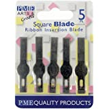Cakes Supplies - 5 Lames de Rechange Pour Scalpel Pme (Insertion)