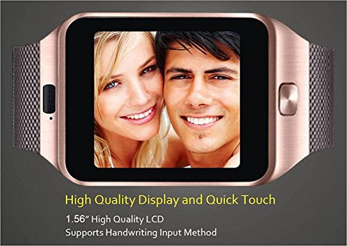 30fe61b3524a06 Buy Piqancy Dz09 Unisex Bluetooth Smart Watch, Unlock Cell phone for Iphone  and Android phones on Amazon | PaisaWapas.com