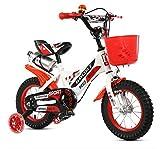 CSPMM Original Premium Safety Sport Kinderfahrrad mit Seitenständer und Zubehör für Kinder ab 4 Jahren Classic Edition für Jungen und Mädchen (größe : 12 inch)