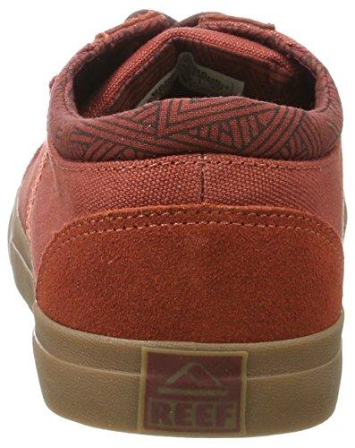 Reef Herren Ridge Brick/Gum Sneaker brick/gum