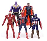 #5: Delite Infinity War Attax - Pack Of 5 (Thanos Vs Avengers Action Toy Figures )