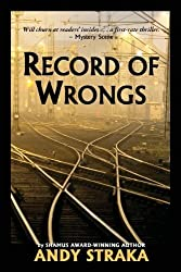 Record of Wrongs by Andy Straka (2013-03-01)