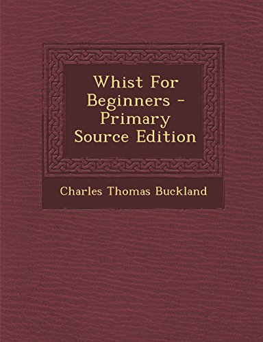 Whist for Beginners