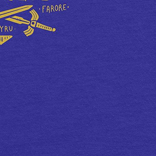 Planet Nerd - Triforce Hero Club - Herren T-Shirt Blau