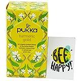 PUKKA - Tisana Biologica Digestiva e Antiossidante alla Curcuma con Limone di Sicilia e Thè Verde