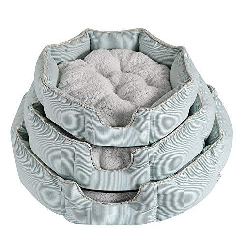 Woke Abnehmbares Kissen Hausbett Zelt für Haustiere,Haustierhütte für Hunde und Katzen,Haustierbett,45X13cm (C)
