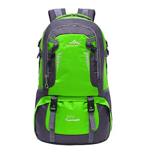 Outdoor Sport Bergsteigen Rucksack Laptop Tasche Reise Daypack Green