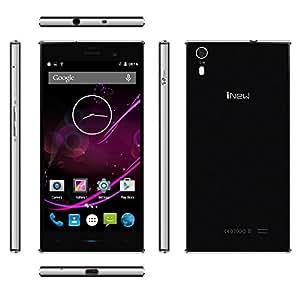 "iNew L3 4G Smartphone 2GB RAM 16GB ROM Android 5.0 OS Quad Core MTK6735 64 bits 1,3 GHz 5.0"" HD écran 5MP 13МP double caméras 1,5A Fast charge Hotknot écran gestes"
