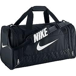 Nike Sporttasche Brasilia 6 Medium Duffel Bolsa, Unisex adulto, Negro / Blanco, Talla Única