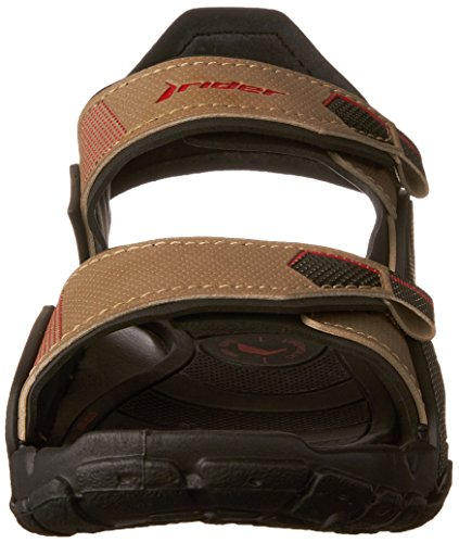 Rider Tender Ix Kids, Tongs Garçon Noir (Black/Beige)