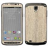 atFolix Samsung Galaxy S4 Active Skin FX-Wood-Bleached-Oak Designfolie Sticker - Holz-Struktur/Holz-Folie