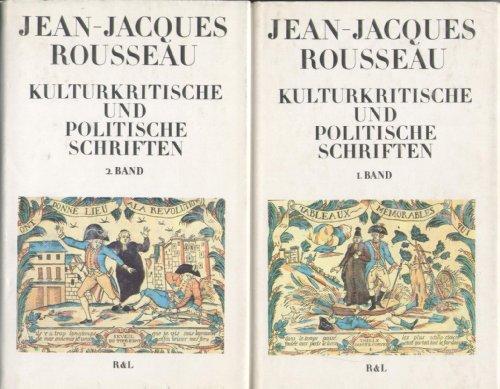 Kulturkritische und politische Schriften in zwei Bänden.