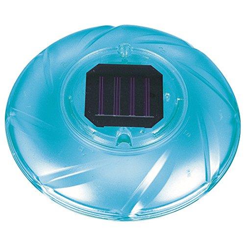 Jilong JL290147N -P56 Solarbetriebene Pool Lampe, automatischer 4 Farb-Wechsel, Durchmesser 19 x 7 cm