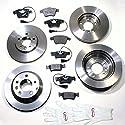 Autoparts-Online Set 60012349 Bremsscheiben / Bremsen + Bremsbeläge für vorne und hinten