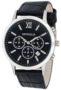 Orphelia - OR55690044 - Montre Homme - Quartz - Chronographe - Chronomètre - Bracelet Similicuir noir