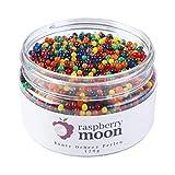 Produkt-Bild: Raspberry Moon Orbeez Perlen (120 gr, Bunt), Wasserperlen, Aqualinos, Deko, Vasen, Hochzeit, Pflanzen, taktiles Spielzeug