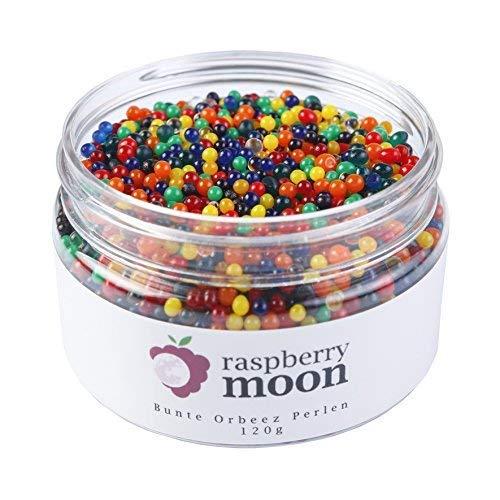 Perle Pflanze (Raspberry Moon Orbeez Perlen (120 gr, Bunt), Wasserperlen, Aqualinos, Deko, Vasen, Hochzeit, Pflanzen, taktiles Spielzeug)