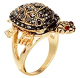 Best Ring Sizers - American Diamond Studded Tortoise Ring - Write Size Review