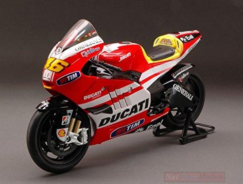New Ray NY57063 Ducati V.Rossi 2011 1:12 MODELLINO DIE CAST Model kompatibel mit (Scale 12 1 Diecast)