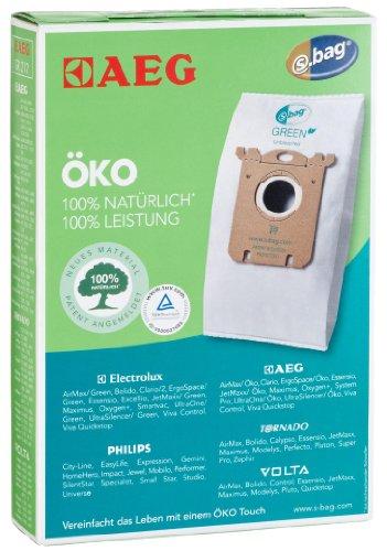 AEG GR212 / 3 Oeko Staubsaugerbeutel / S-bag Oeko / entspricht Menalux 1800