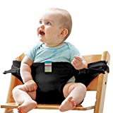 The Washable Portable Travel High Chair Booster Baby Seat with Straps Toddler Safety Harness Baby Feeding The Strap (8 Colors) #81086