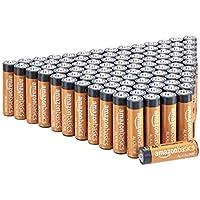 AmazonBasics Alkalibatterien, leistungsstark, AA, 100 Stück