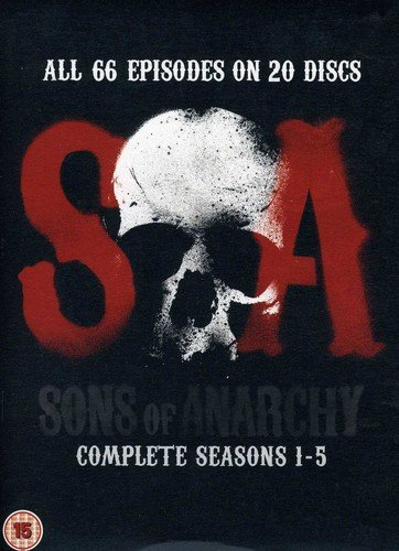 Sons of Anarchy: Season 1-5 [20 DVDs] [UK Import]