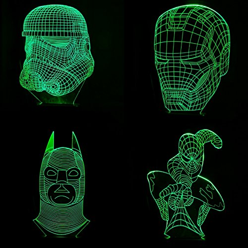 3d-led-illusion-set-of-4-designs-7-colors-graphic-printed-nightlamp-superhero-collection